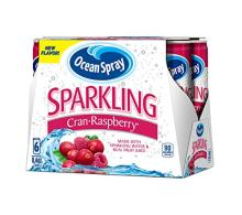 Ocean Spray Sparkling Juice, Cranberry Raspberry