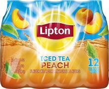 Lipton Iced Tea, Peach