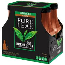 Pure Leaf Iced Tea, Unsweetened, Real Brewed Tea