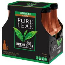 Pure Leaf Iced Tea, Unsweetened, Real Brewed Tea