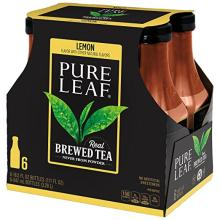 Pure Leaf Iced Tea, Lemon, Sweetened, Real Brewed Tea