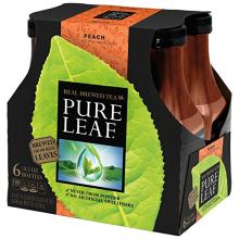 Pure Leaf Iced Tea, Peach, Real Brewed Tea