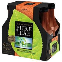 Pure Leaf Iced Tea, Peach, Real Brewed Tea
