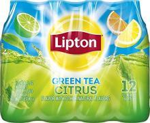 Lipton Green Tea, Citrus