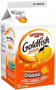 Pepperidge Farm, Goldfish Crackers, Cheddar