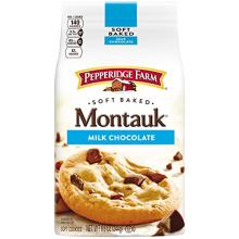 Pepperidge Farm, Soft Baked Cookies, Montauk Milk Chocolate