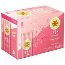 IZZE FUSIONS Sparkling Beverage, Strawberry Melon
