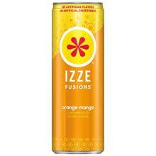 IZZE FUSIONS Sparkling Beverage, Orange Mango