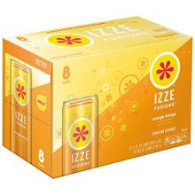 IZZE FUSIONS Sparkling Beverage, Orange Mango