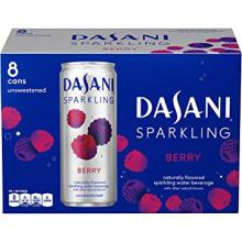 Dasani Sparkling Drinking Water, Berry,