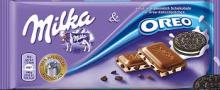 Milka and Oreo Bar 100g
