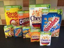 Nestle cereal breakfast