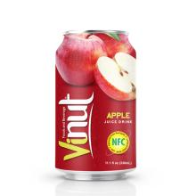 330ml Canned  Apple  juice drink
