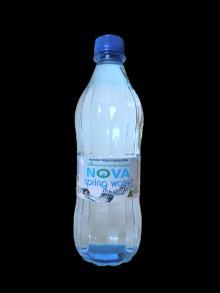 500ml Premium Australian Nova Springwater Bottle SILVER