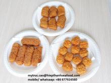 Breaded Pangasius _ Frozen Fish Corn Flake Pop Corn