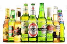 Bottles-of-assorted-global-beer-brands