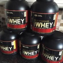Made in USA Gold Standard 100% Whey Protein - Extreme Milk Chocolate /Whey Protein Isolate Powder