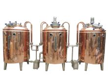 Copper  Beer Brewing System For Teaching