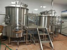 500L Stainless Steel Beer Brewery Equipment