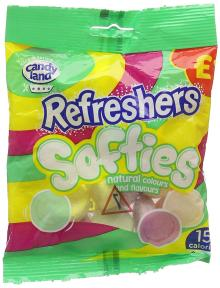Candyland Refresher Softies 120 g (Pack of 12)