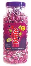 VIMTO Flavoured Lollies 200 Per Jar