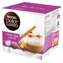 NESCAF?? Dolce Gusto Chai Tea Latte, Pack of 3 (Total 48 Capsules, 24 Servings)