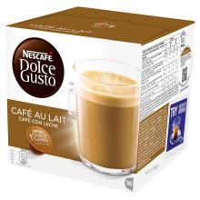 NESCAF?? Dolce Gusto Cafe Au Lait, Pack of 3 (Total 48 Capsules, 48 servings)