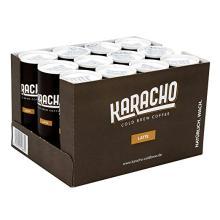 KARACHO Latte | cold brew coffee with organic milk | 12-pack | organic | lots 1