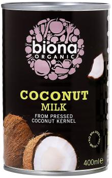 Biona Organic Coconut Milk, 400ml 2