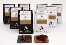 AROMISTICO | Finest Smooth Medium Roast | Premium Italian Roasted Whole COFFEE B