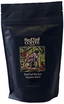 RedTail Coffee Rocket Super Crema Espresso Whole Bean Coffee, 250 g