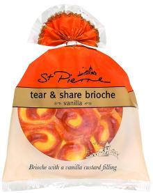 St Pierre Vanilla Tear & Share Brioche