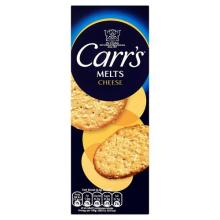 Carrs Cheese Melts Biscuits, 150g