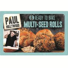 Paul Hollywood 6 Ready to Bake Multi-Seed Rolls