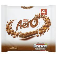Aero Milk Chocolate Bar, 4 x 27g 2