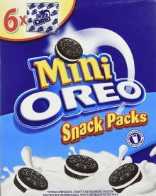 Oreo Mini Cookies Vanilla, 150 g 1