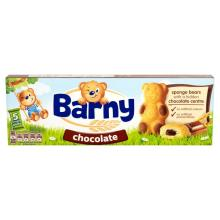 Barny Chocolate Sponge Bear Biscuits, 5 x 30g