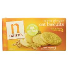 Nairn's Stem Ginger Oat Biscuits, 200g