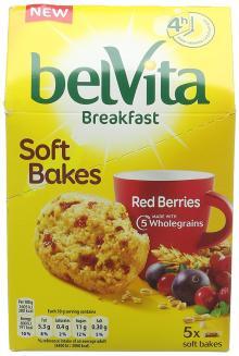 Belvita Breakfast Soft Bakes Red Berries Biscuits 5 x 50g1