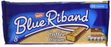 Blue Riband Coffee Cream Biscuit Bars, 8 x 19g