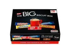 Nestl?? The BIG Biscuit Box Chocolate Biscuit Bars