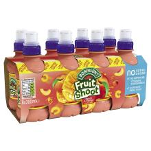 Fruit Shoot Peach & Mango, 200ml (8 Pack)