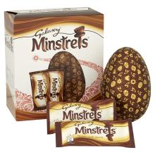 Galaxy Minstrels Chocolate Egg 262g, Large