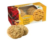 Walkers Oatflake & Honey Biscuits, 150g