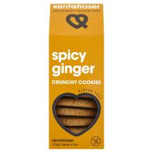 Kentofraser Spicy Ginger Crunchy Cookies, 125 g