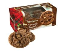 Walkers Extremely Chocolatey Cookies, 150g