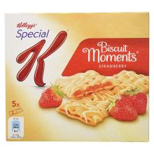 Kellogg's Special K Biscuit Moments Strawberry, 5 x 25g
