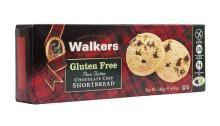 Walkers Gluten Free Chocolate Chip Shortbread 140g