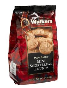 Walkers Mini Round Shortbread Bag