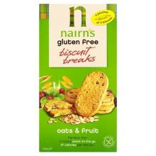 Nairn's Biscuit Breaks Oats and Fruit, 160 g
